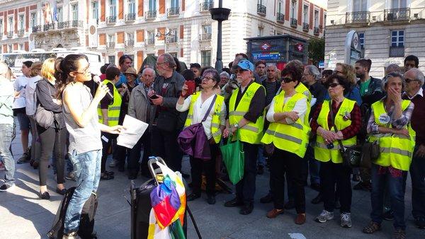 Cuarto aniversario yayoflauta yay flautas madrid for Puerta del sol hoy