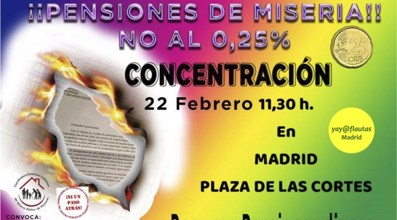 22F · PENSIONES · NO AL 0,25% - WEB